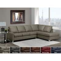 Shop Dean Premium Top Grain Italian Leather Tufted Sectional Sofa - On Sale - Overstock - 20847018 - Maroon Red Tufted Leather Sofa, Sofa Seat Cushions, Sectional Sofa With Chaise, Outdoor Cushions And Pillows, Leather Sectional Sofas, Chaise Lounges, Sofa Furniture, Furniture Deals, Online Furniture