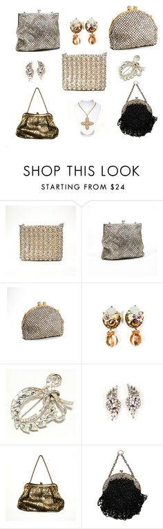 """""""Always Sparkle"""" by vintagemeetmodern on Polyvore featuring Whiting & Davis"""