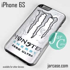 Bon Monster Energy Drink Zero Ultra Phone Case For IPhone 6/6S/6 Plus/
