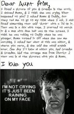 Dear Aunt Prim...