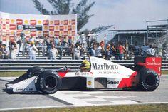 Ayrton Senna, McLaren-Honda, Brazil 1989