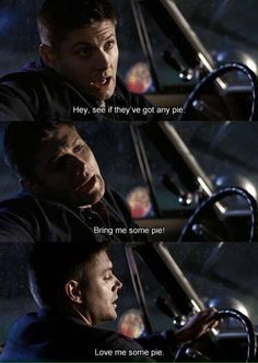 The Apocalypse started because Dean wanted pie
