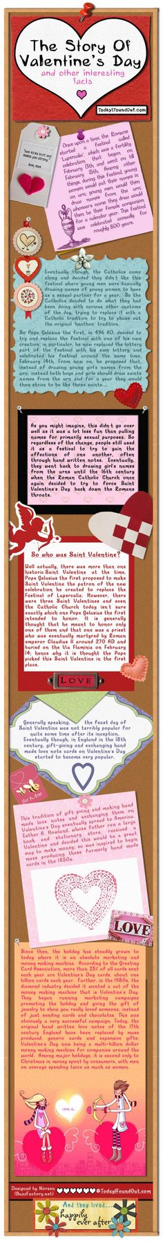 The History of Valentine's Day | The Story of Valentine