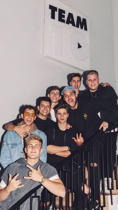 Jake Paul, Kade Speiser, Anthony Trujillo, Chance Sutton, Chad Tepper, Emilio Martinez, Ivan Martinez, & Nick Crompton