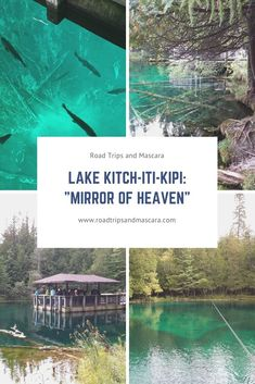 Lake Kitch-iti-kipi is Michigan's largest freshwater spring located in the eastern part of the Michigan's Upper Peninsula. Michigan State Parks, Michigan Travel, Family Vacation Spots, Vacation Ideas, Places To Travel, Places To Visit, Weekend Hiking, Arizona Travel, Local Attractions