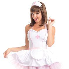 Sizzling School Nurse Costume