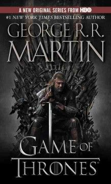 A Game of Thrones I recently saw the first episode  and was intrigued, so before continuing I decided to read the first novel of the series...SO Good!!!!!