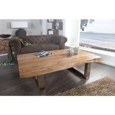 Moderne salontafel mammoet II 130cm acacia - 35945