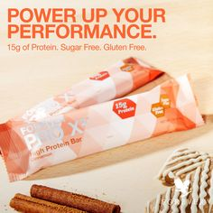 Each PRO X²®️ bar is packed with 15 grams of protein from three types of protein: soy protein isolate, whey protein concentrate and whey protein isolate. Yummy Snacks, Healthy Snacks, High Protein Bars, Soy Protein Isolate, Whey Protein Concentrate, Forever Living Products, Protein Sources, Weight Management, Feel Better