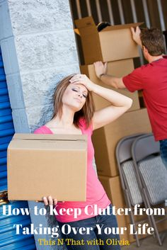 How to Keep Clutter From Taking Over Your Life! - This N That with Olivia