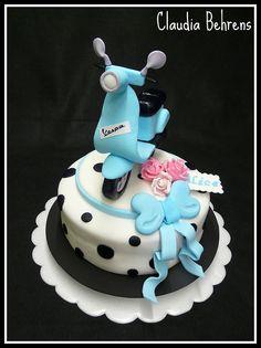 vespa cake alice - claudia behrens by Claudia Behrens ~ Cakes, via Flickr