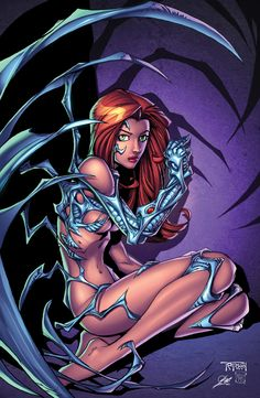 witchblade pin up inked by kriss777-d3jtr4u XGX by knytcrawlr.deviantart.com on @DeviantArt - More at https://pinterest.com/supergirlsart/ #comic #book #comics #art