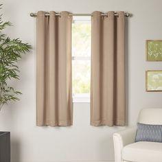 Wayfair Basics Blackout Grommet Single Curtain Panel