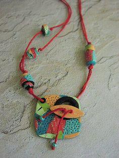 Polymer Clay Pendant   Studio53South.com: