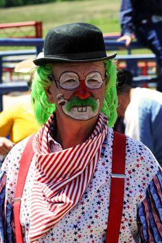 Serious clown