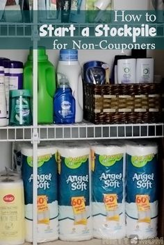 How to Start a Stockpile for Non-Couponers #WalgreensPaperless #shop