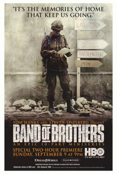 Band of Brothers posters for sale online. Buy Band of Brothers movie posters from Movie Poster Shop. We're your movie poster source for new releases and vintage movie posters. Band Of Brothers, Brothers Movie, Tom Hardy, Ron Livingston, Jamie Bamber, Movies And Series, Hbo Series, War Film, Star Show