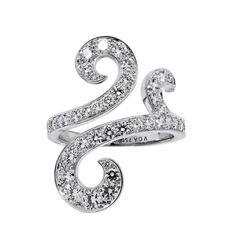 Van Cleef & Arpels Oiseaux de Paradis Diamond Gold Ring