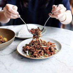 @Regrann from @satekhassenayan -  Belum punya ide untuk makan siang hari ini? Gimana kalo mencoba menu baru Krengsengan sapi? Campuran daging sapi dan cabai pastinya bakal bikin ketagihan. . . . . #SateKhasSenayan #lunchmenu #lunch #LivingWorld #alamsutera  Yummery - best recipes. Follow Us! #foodporn