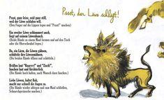 Fingerspiel - Pssst, der Löwe schläft Activities For Kids, Crafts For Kids, Yoga For Kids, Safari, Preschool, Play Ideas, Day Planners, Poems For Children, Kids Rhymes