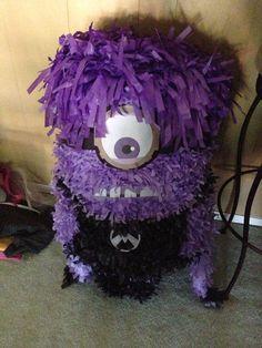 Piñata~Purple Minion Pinata