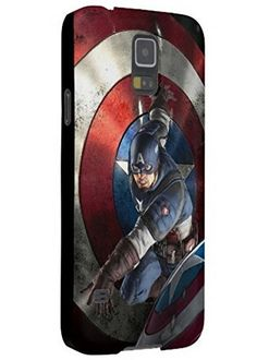 Fitted Captain America Samsung Galaxy S5 Protective Case,Durable Hard Back Cover,[Scratch Resistant] [Impact Resistant] [Drop Protection] Cases Shells, PolyCarbonate Plastic shell Black. Ultra protective Samsung Galaxy S5 case. Suitable for Samsung Galaxy S5. Wear resistant and druable back cover. Cute unique personalized design. Item is often delivered in 6-14 days (before EDD).