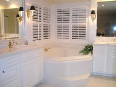 Great set up for his and hers sinks