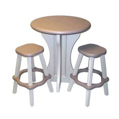 Leisure Accents 30 Inch Round Table W/4 Barstools / LAPTBS G  (Portobello/Warm Gray), #Confer, #LAPTBS P | FootwearStore | Pinterest | Round  Tables, Tables ...