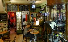 Camera Cafe, Bloomsbury - a camera shop and cafe combined!