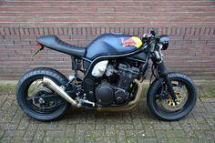 Unieke Suzuki Bandit 600cc caferacer