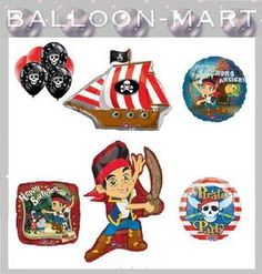Jake and the Never Land Pirate Balloons