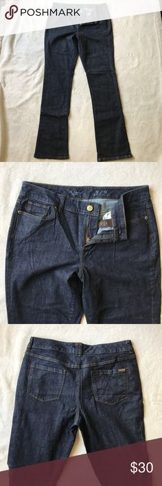 Limited 312 boot cut jeans Worn once limited boot cut 312 dark jeans. The Limited Jeans Boot Cut