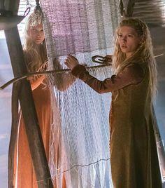 Torvi, 'Bjorn's new companion' and Lagertha ~ Vikings Season 4