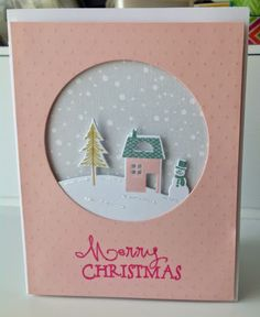 pink Christmas by hultenlk - Cards and Paper Crafts at Splitcoaststampers