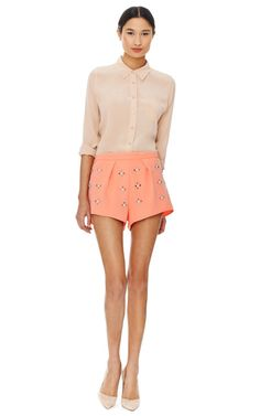 Rhinestone Shorts by Clover Canyon