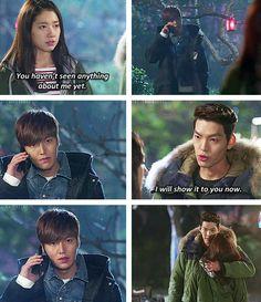"Kim Woo Bin , Shin Hye, Lee Min Ho ♡ #Kdrama - ""HEIRS"" / ""THE INHERITORS"""