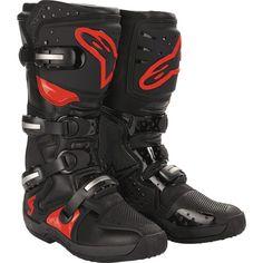 2007 Alpinestars Tech 3 MX Boots Motocross Gear from Dirt Bike Bitz ❤ liked on Polyvore