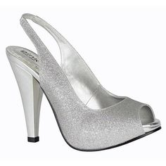 Paradox Pink Carrie Silver Bridesmaid or Party Shoes - SALE Silver Bridesmaid Shoes, Silver Wedding Shoes, Silver Weddings, Glitter Wedding, Silver Glitter Shoes, Silver High Heels, Women's Evening Dresses, Evening Shoes, Jimmy Choo