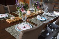 Almoço de Saint-Valentin! Table Settings, Place Settings