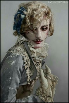 Monarchy by ValentinPerrin, for the love of Androgyny. Marie Antoinette, Character Inspiration, Character Design, Rococo Fashion, Drag King, Androgynous, Rupaul, Costume Design, Clowns