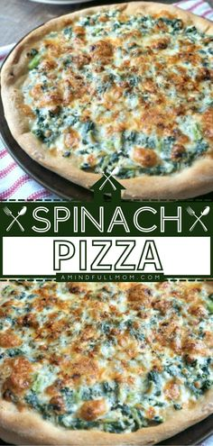 A meatless meal your family will enjoy! This White Spinach Pizza has all the classic Florentine flavors, from the creamy ricotta to the Italian herbs and a mixture of mozzarella and Parmesan cheese. Feel free to adapt this easy, healthy recipe to what you have on hand! Easy Family Meals, Quick Easy Meals, Easy Dinners, Family Recipes, Pizza Recipes, Chicken Recipes, Easy Healthy Recipes, Vegetarian Recipes, Easy Mexican Casserole