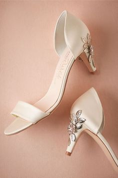 Constance D'Orsay Pumps the Perfect wedding shoes