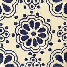 Tiles and Tiles... Decorative Talavera tile: os 204
