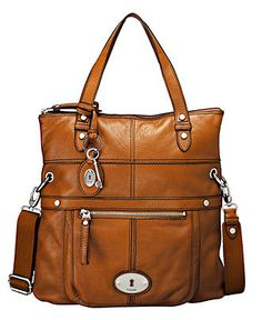 Fossil Handbag - Maddox Convertible Fold over Tote. Fossil bags are one of my weaknesses. Love them all.