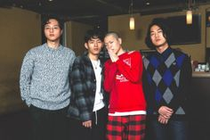 hyukoh for Oricon Style