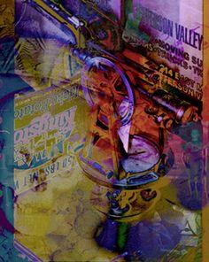 """Mort Mechanique"" by American artist, Howard Berdach American Artists, Fine Art Prints, World, Painting, Art Prints, Painting Art, Paintings, The World, Painted Canvas"