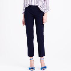New Campbell capri pant in bi-stretch cotton : slim | J.Crew