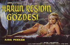 """Harun Reşid'in Gözdesi"" Yönetmen :Atıf Yılmaz Black And White Cartoon, Film Movie, Movies, Film Posters, Indian Beauty, Culture, History, Artist, Life"