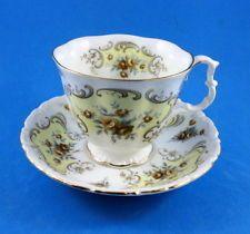 Royal Albert September Song Tea Cup and Saucer Set