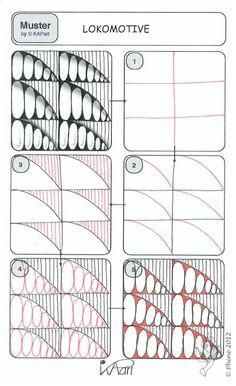 Zendoodle-Wege: Meine eigenen Muster